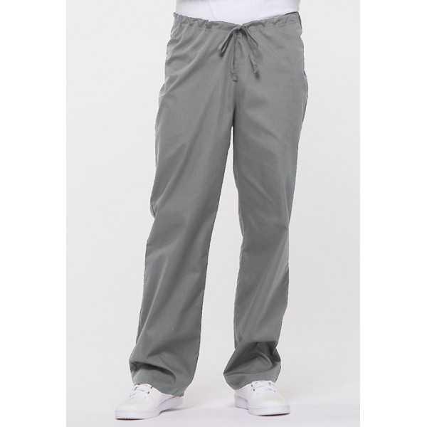 "Pantalon médical Unisexe Cordon, Dickies, Collection ""EDS signature"" (83006) gris clair vue face"