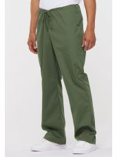 "Pantalon médical Unisexe Cordon, Dickies, Collection ""EDS signature"" (83006) vert olive vue face"
