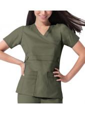 """Blouse médicale Femme Dickies, collection """"GenFlex"""" (817355) olive modèle"""