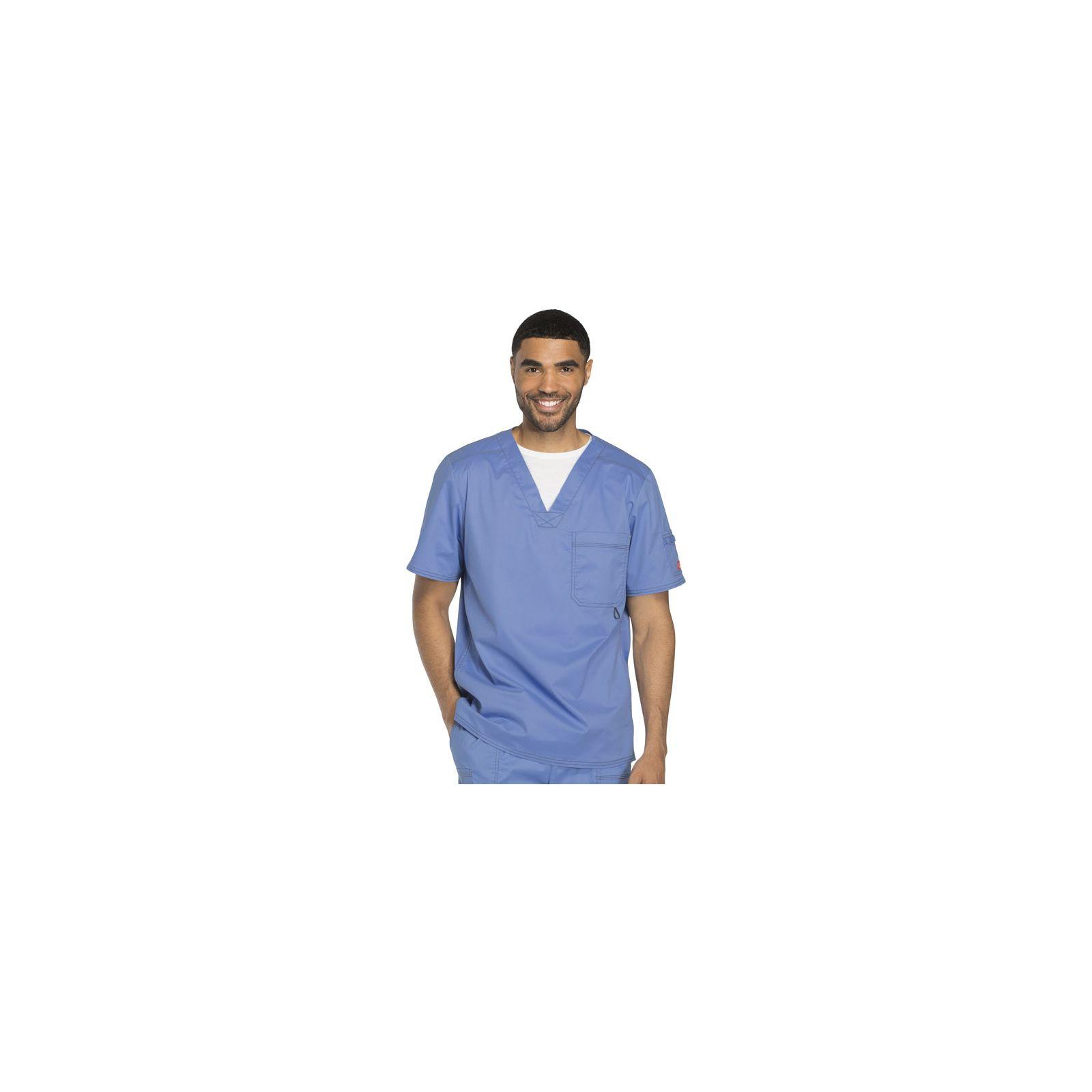 """Col V médical pour homme Dickies, Collection """"Gen flex"""" (81722)"""