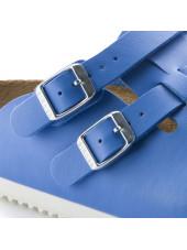 """Sabots médicaux """"Dog blue"""", Birkenstock (Kay) vue boucle"""