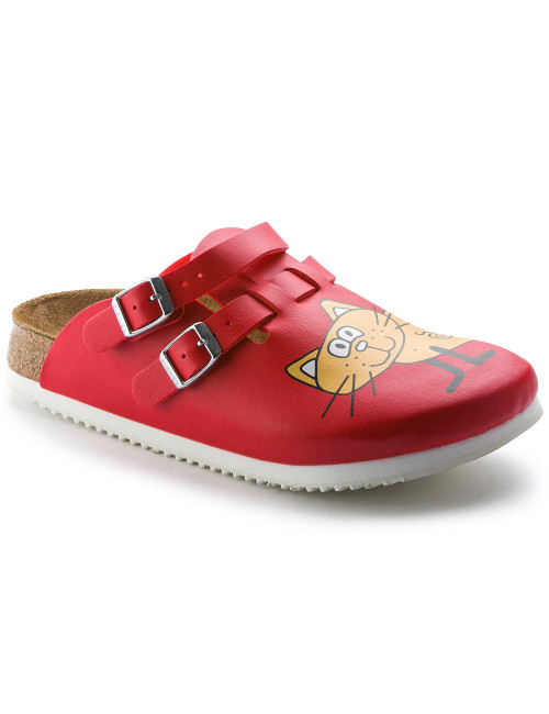 "Cat Red"" medical clogs, Birkenstock (Kay)"