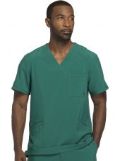 "Blouse Médicale Homme Antibactérienne Cherokee, Collection ""Infinity"" (CK900A) vert chirurgien face"