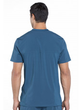 "Col V homme stretch Cherokee, Collection ""Infinity"" (CK910A) vert caraibe dos"
