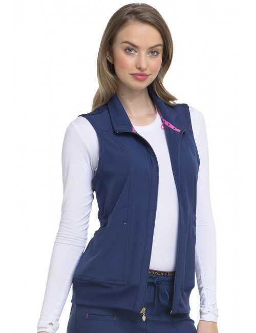 Veste médicale sans manche femme, HeartSoul (HS500)