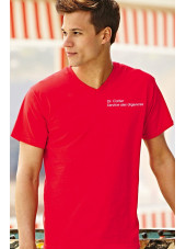 """Tee-shirt Homme Col V """"Fruit of the loom"""", (SC22VC)"""