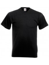 "Tee-shirt Homme Col V ""Fruit of the loom"", (SC22VC)"