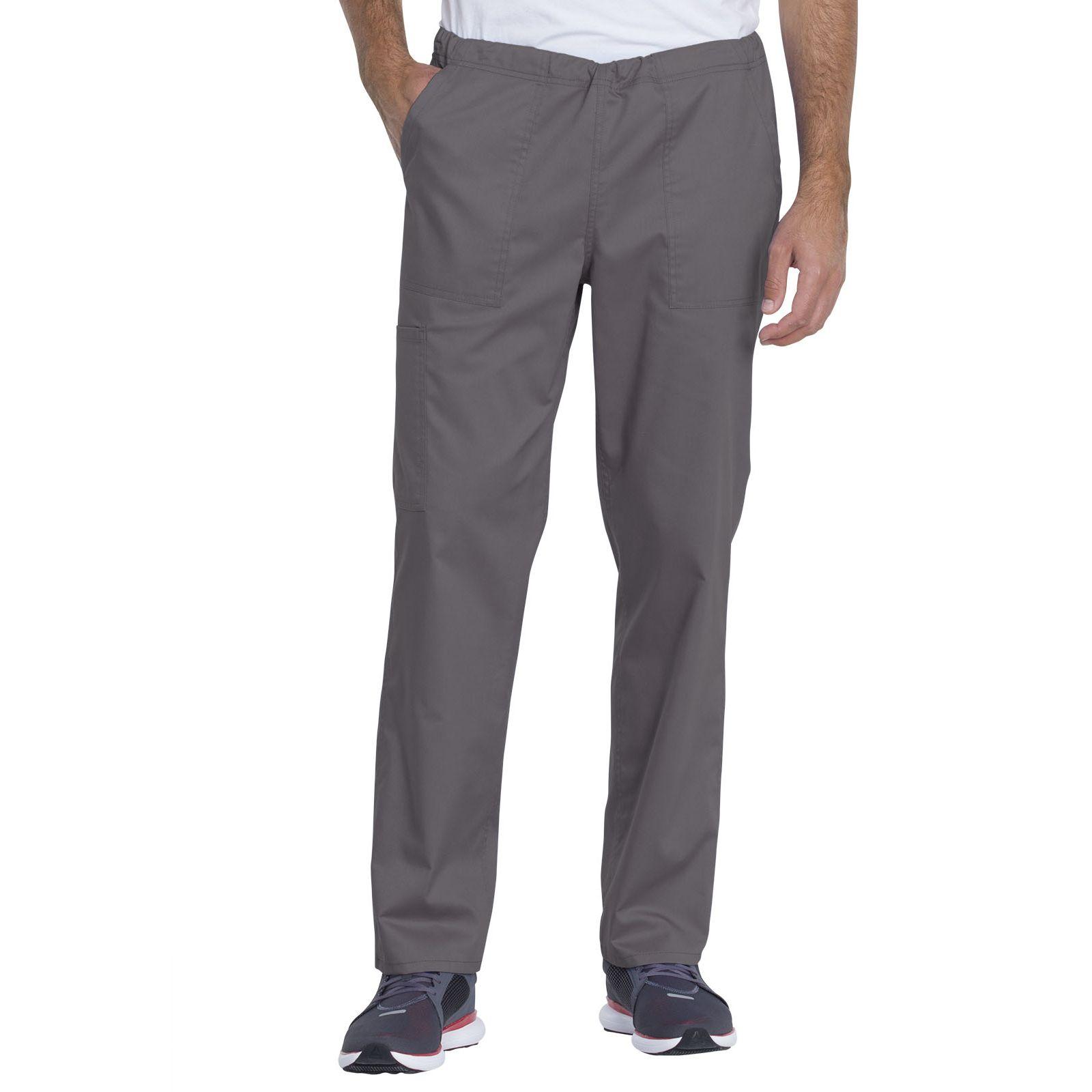 "Pantalon médical, unisexe, Dickies, Collection ""Genuine"" (GD120) gris face"