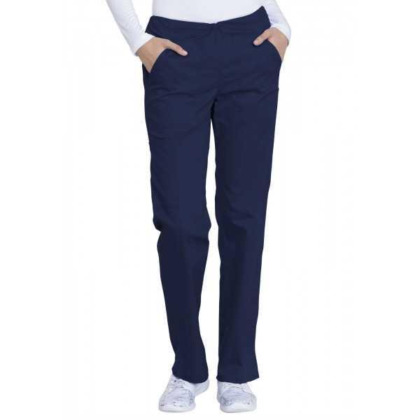 """Pantalon médical, femme, Dickies, Collection """"Genuine"""" (GD100) marine face"""