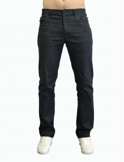 Pantalon Médical Homme Dénim Uni, Trendy, Camille Lavandie (281)