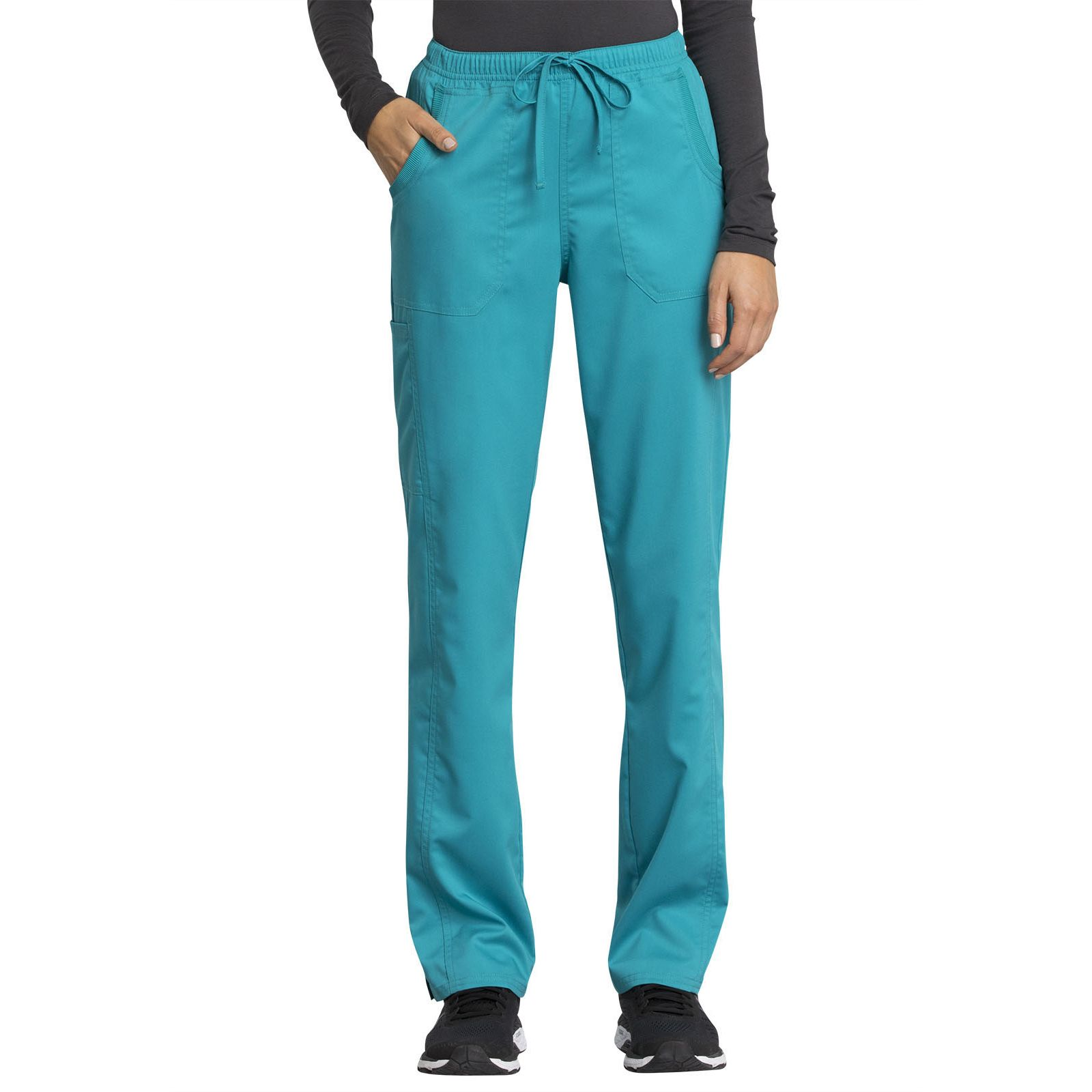 "Pantalon médical femme, Cherokee ""Revolution tech"" (WW235AB) teal blue face"
