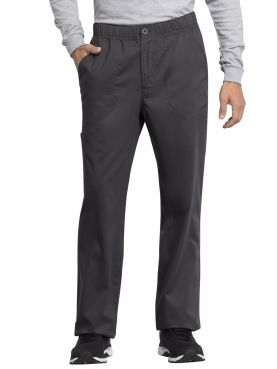 "Pantalon médical homme, Cherokee ""Revolution tech"" (WW250AB) gris face"