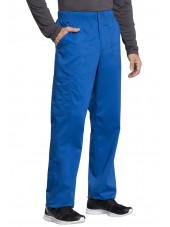 "Pantalon médical homme, Cherokee ""Revolution tech"" (WW250AB) bleu royal coté"