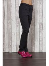 Pantalon Médical Femme Sweety, couleur Graine de Pavot, vue de profil, Camille Lavandie (282)