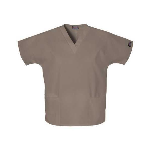Col V unisexe avec deux poches Couleur Unies, Cherokee Authentic Scrubs (4700)