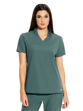 "Women's Medical Gown, ""Grey's Anatomy Edge"" Collection (GET006-)"