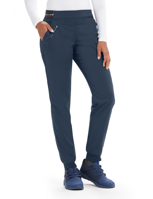 "Pantalon médical femme, collection ""Grey's Anatomy Stretch"" (GVSP512-)"