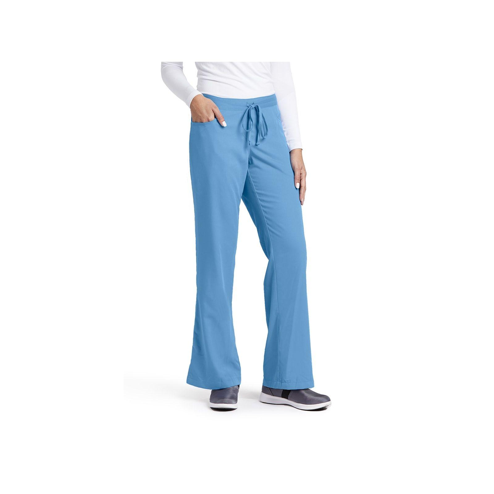 """Pantalon cordon et élastique, couleur bleu ciel vue de face, Barco, collection """"Grey's Anatomy"""" (4232)"""