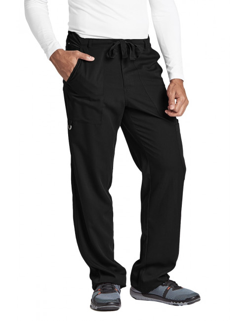 "Pantalon homme, Barco, couleur noir vue de face, collection ""Grey's Anatomy"" (0203-)"