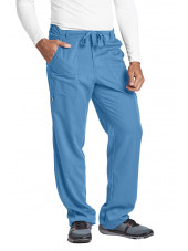 "Pantalon homme, Barco, couleur bleu ciel vue de face, collection ""Grey's Anatomy"" (0203-)"