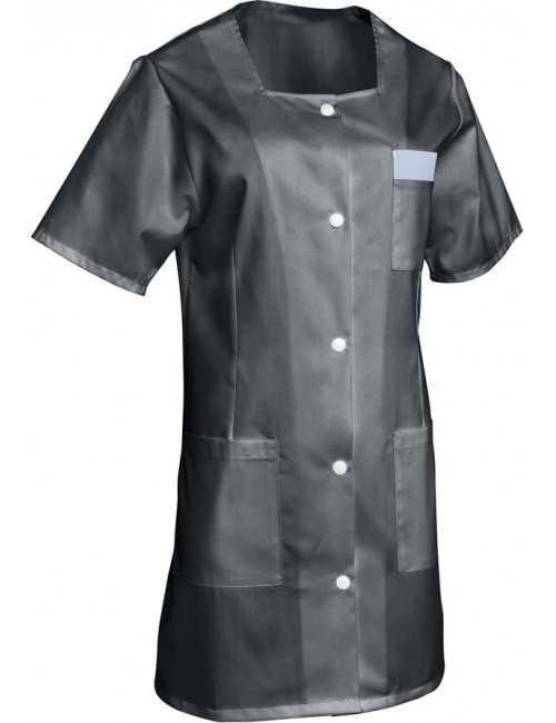 Blouse médicale Femme couleur manches courtes Marina, SNV (MARCP000) couleur anthracite