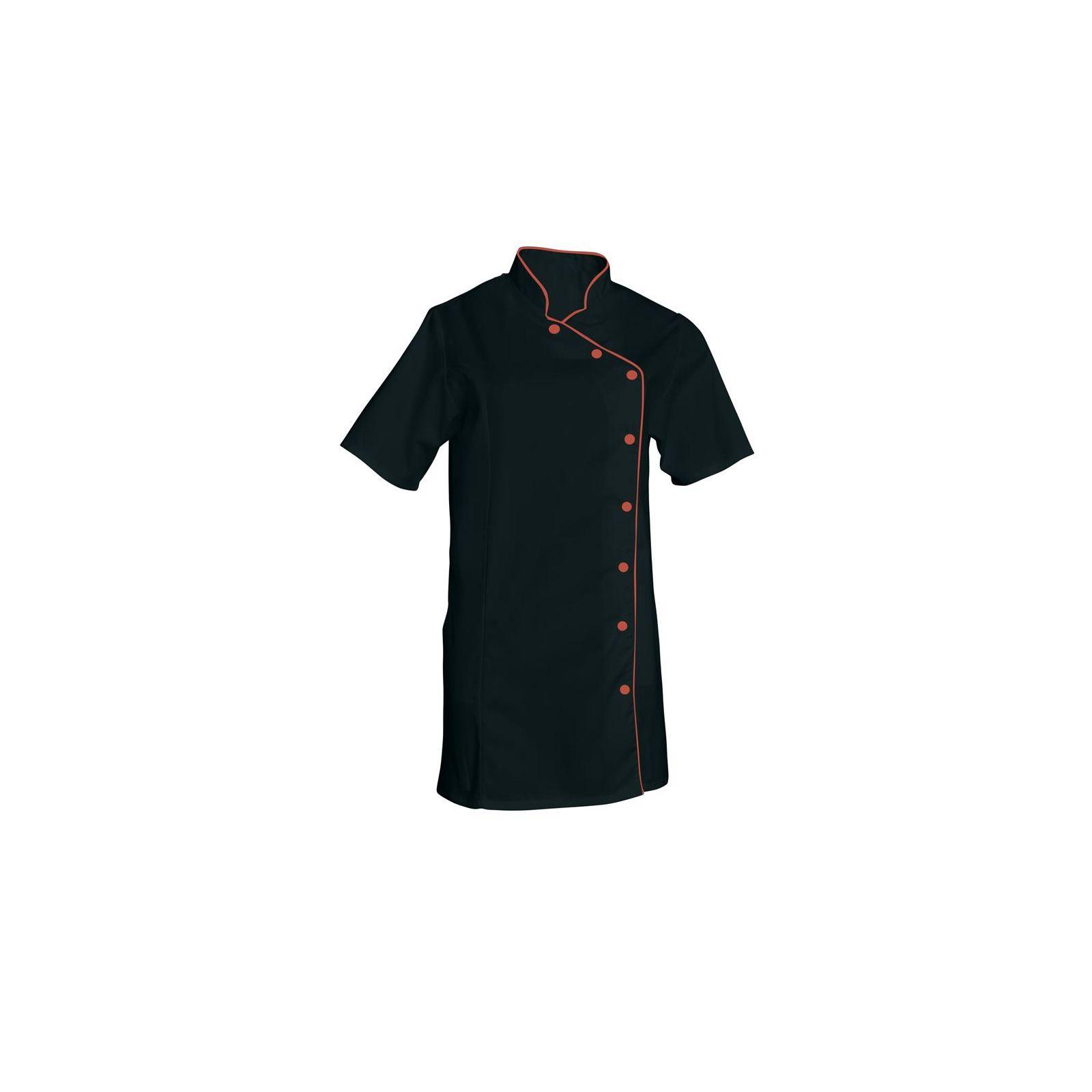 Blouse de travail Femme couleur Col Officier Odile, SNV (ODICC000) couleur noir