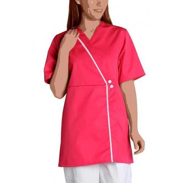 Blouse médicale Femme blanche manches courtes Marina, SNV