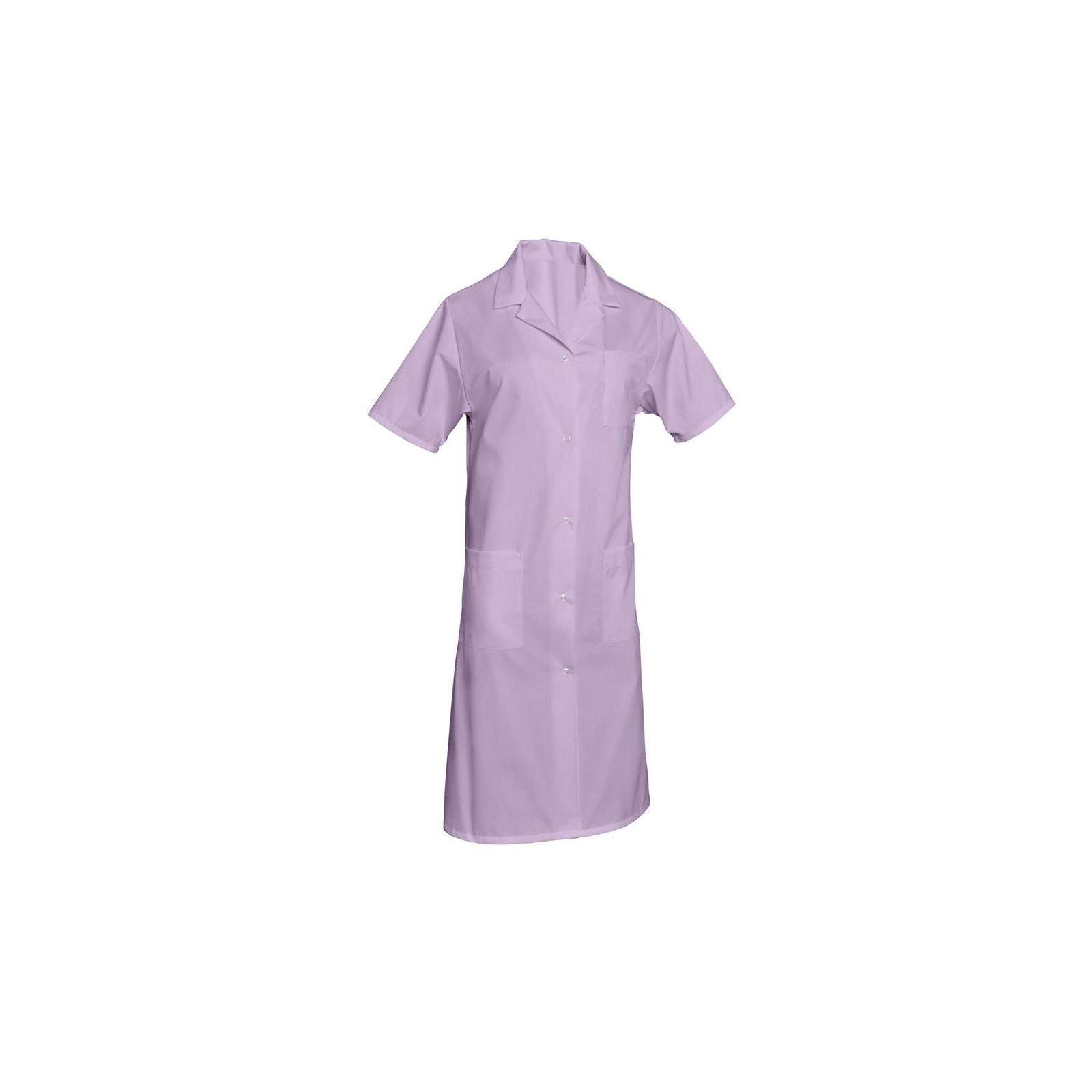 Blouse médicale Femme couleur longue Poly/Coton Madona, SNV (MADCP000) couleur lilas