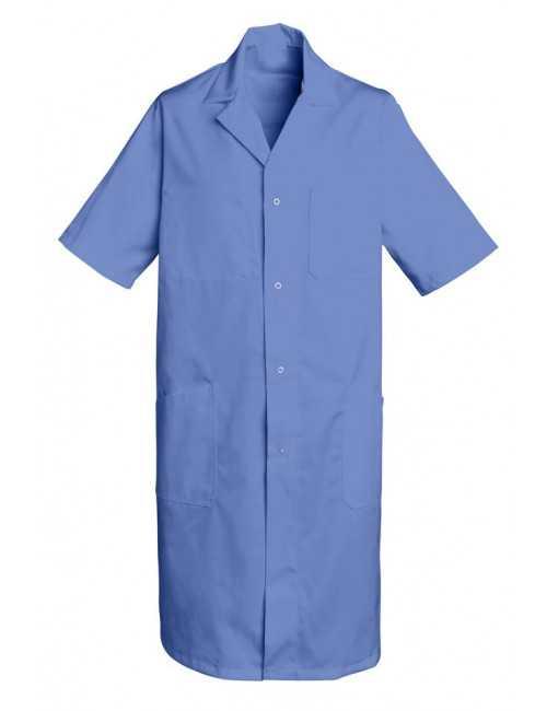 Blouse médicale Longue Homme Bleu Poly/Coton Oscar, SNV (OSCARMC0)