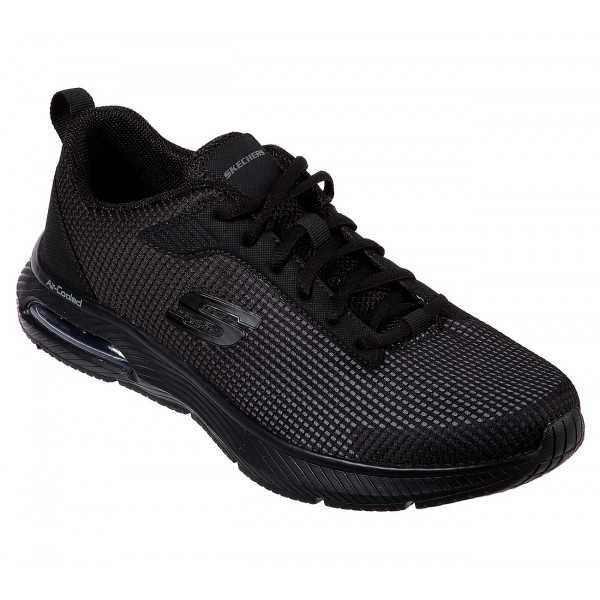 Baskets Homme Skechers Dyna Air BLYCE (52558) couleur noir vue ensemble