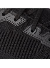 Baskets Femme Skechers Tough Talk (32504), couleur noire, vue lacet