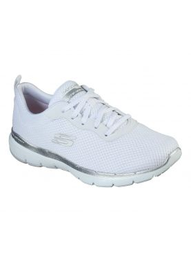 Baskets Femme Skechers Flex Appeal Blanches (13070)