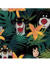 """Blouse médicale imprimée """"Bungle In The Jungle"""", Collection Tooniforms Disney (TF725) vue détail"""