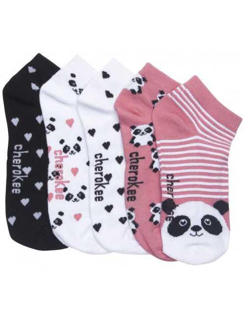 """Lots de chaussettes """"Pandalovin"""""""
