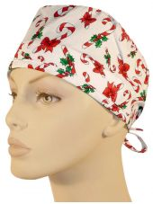 """Calot médical """"Candy Canes on White"""" (210-8517)"""