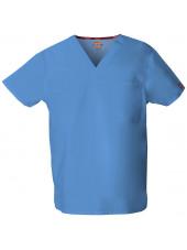 """Blouse médicale Homme, Dickies, poche cœur, Collection """"EDS signature"""" (83706), couleur bleu ciel, vue produit"""