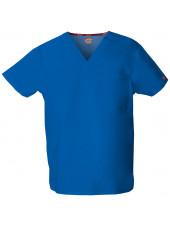 """Blouse médicale Homme, Dickies, poche cœur, Collection """"EDS signature"""" (83706), couleur bleu royal, vue produit"""