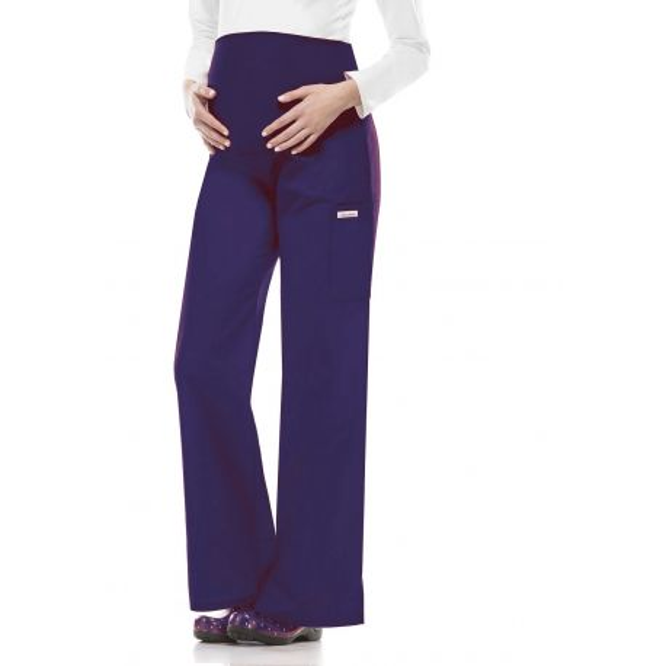 Pantalon médical Femme enceinte à élastique Cherokee (2092), couleur bleu marine vue produit