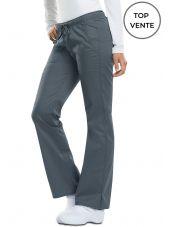 """Pantalon médical Femme Cordon, Dickies, Collection """"GenFlex"""" (DK100), couleur gris anthracite vue top vente"""