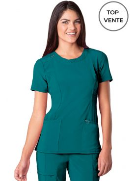 "Blouse médicale antimicrobienne Femme Col rond, Cherokee, Collection ""Infinity"" (2624A)"