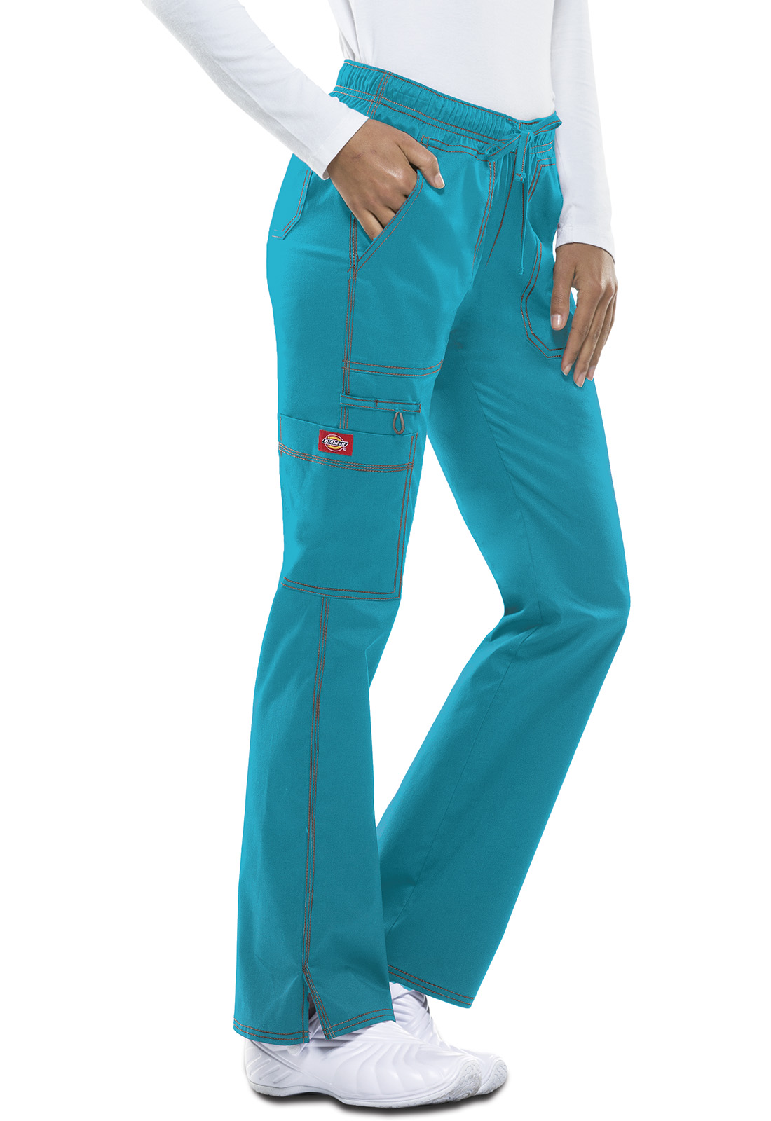 Pantalones Medicos Para Mujeres Dickies Genflex Dk100