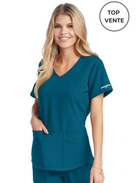 "Blouse médicale femme, collection ""Skechers"" (SK101-) - top vente"