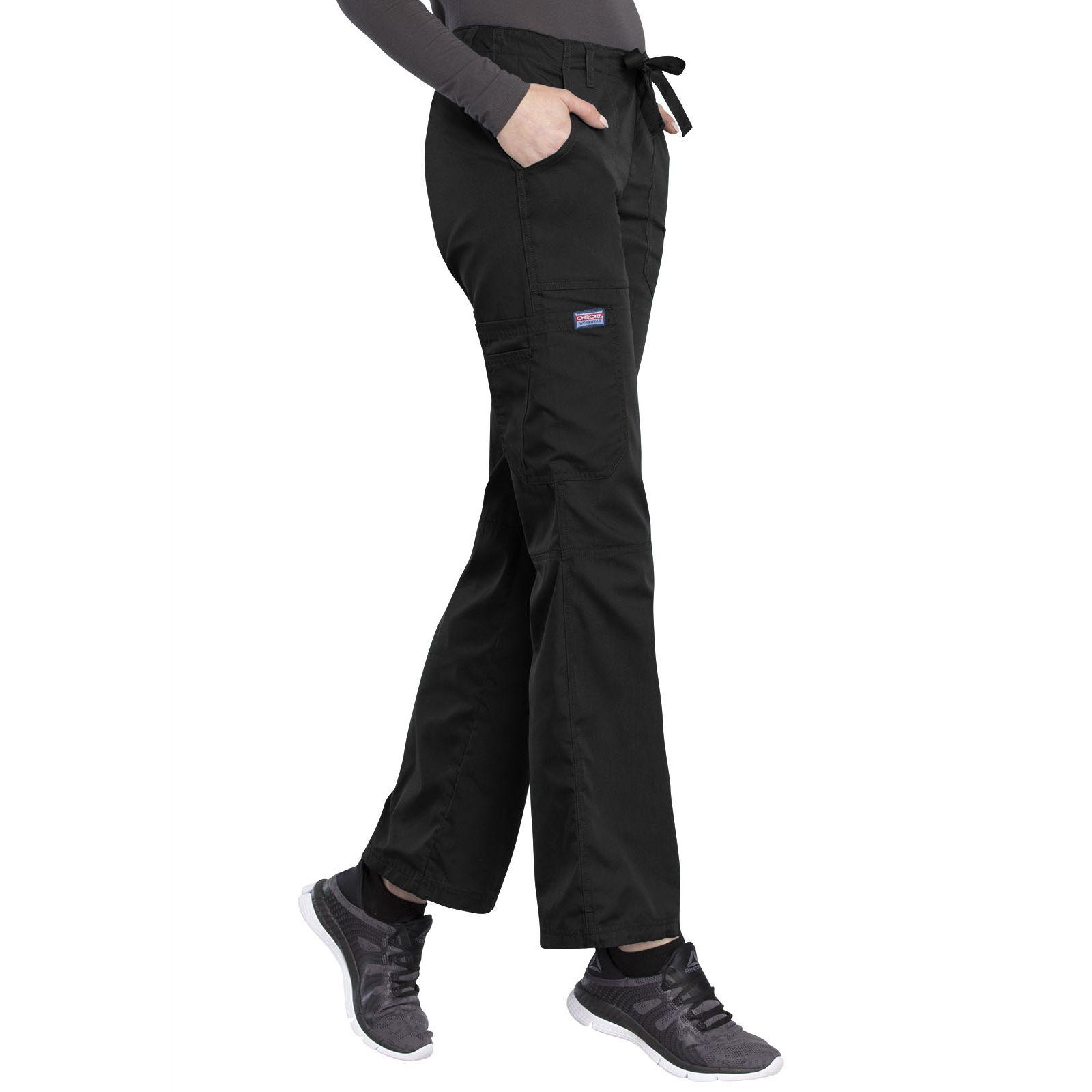 Women's pants and elastic strap back Cherokee