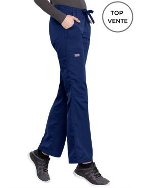 Pantalon médical Femme cordon et élastique, Cherokee Workwear Originals (4020) top vente