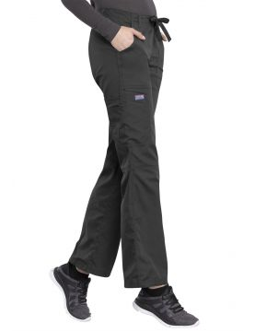 Pantalon médical Femme cordon et élastique, Cherokee Workwear Originals (4020)
