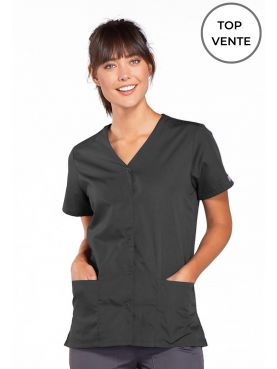 Blouse médicale Femme boutons pression, Cherokee Workwear Originals (4770) top vente