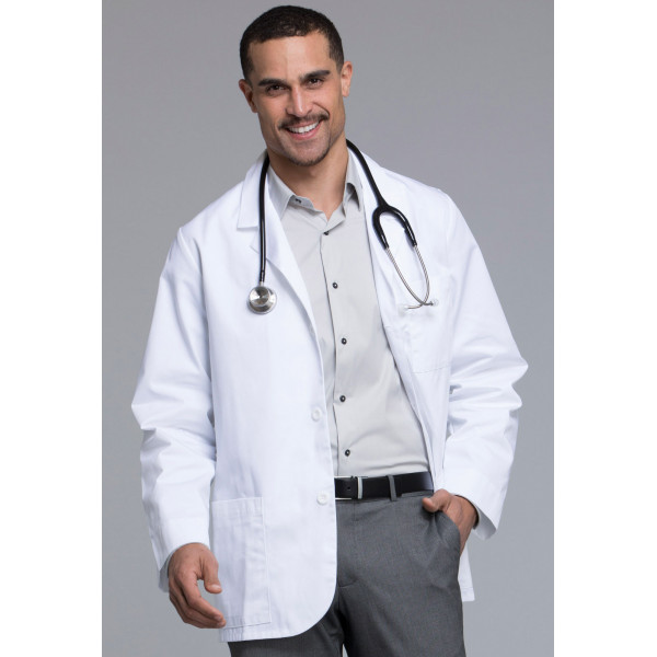 Lab Coat Antimicrobien Homme, Cherokee (1389) vue face