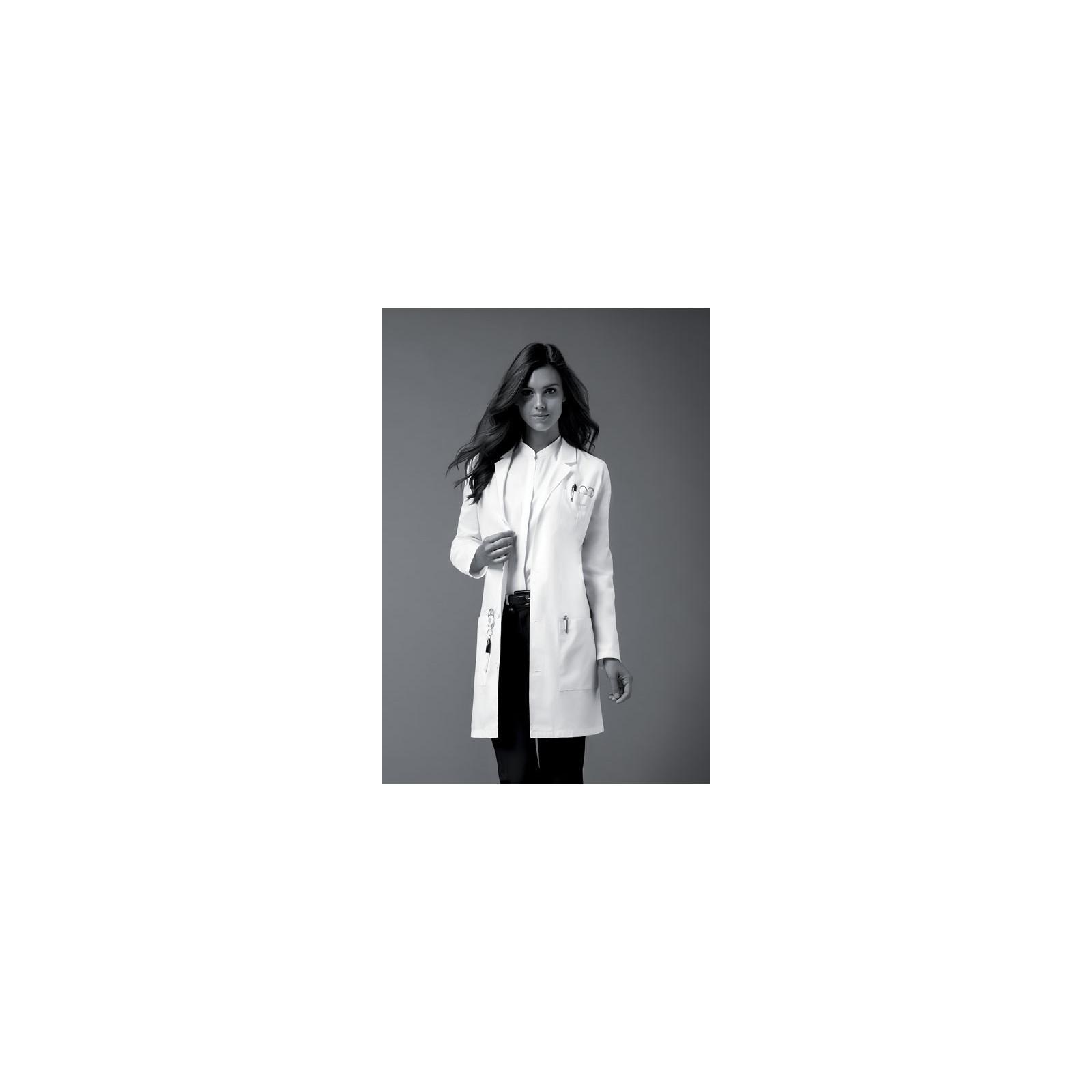 """Blouse médicale longue Femme Dickies, Collection """"EDS"""" (83402) vue modèle"""