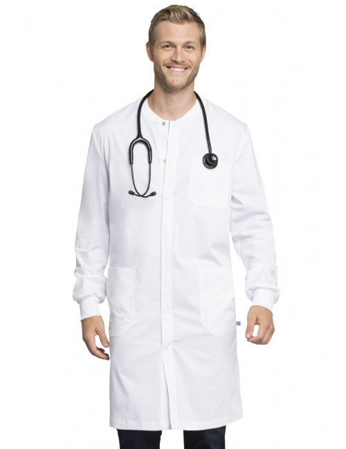 "Men's Long Medical Gown, Cherokee ""Revolution Tech"" (WW350AB)"