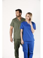 Col V unisexe, Dickies, 2 poches, (86706)